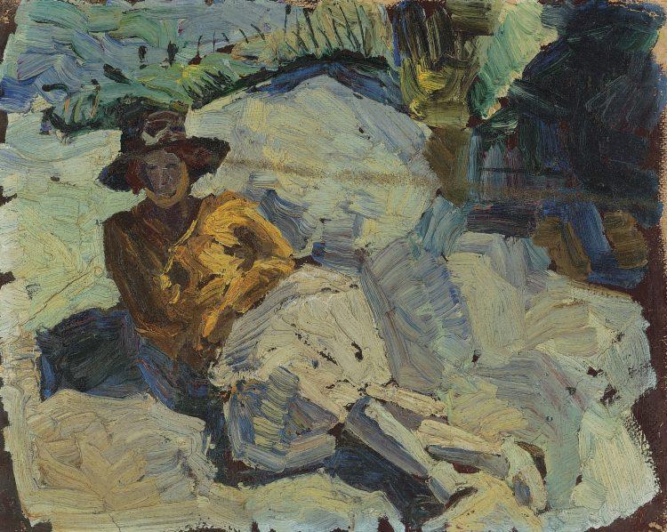 In de duinen (1920)