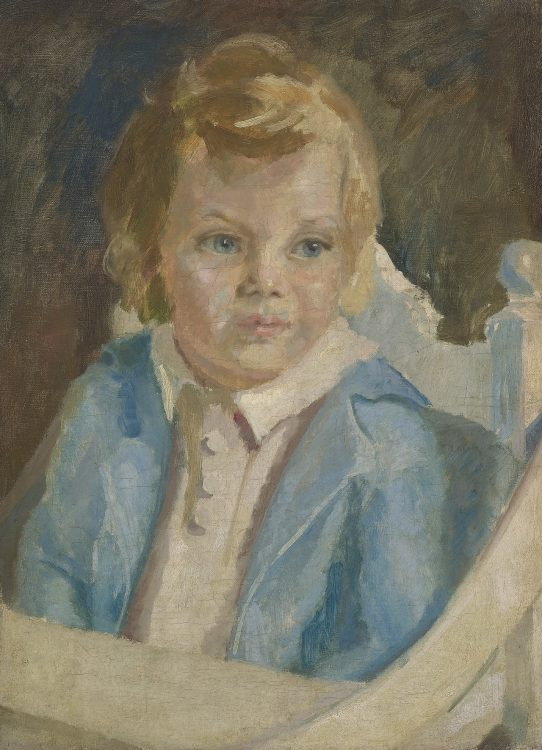 Keetje, 2 jaar oud (1933) olieverf
