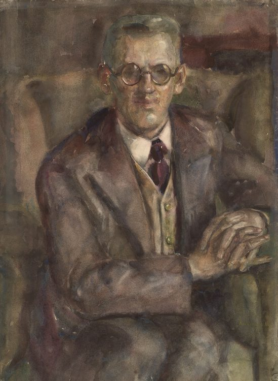 Portret van Alfred Löb