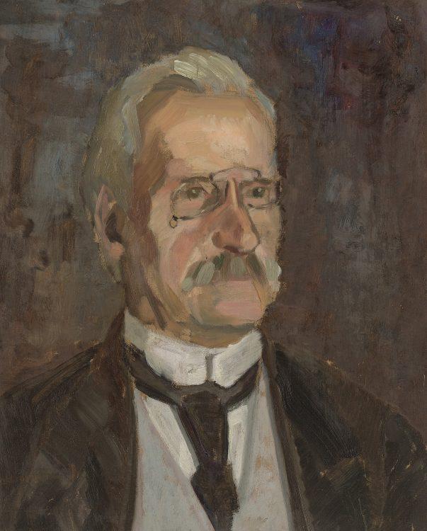 Portret van de vader van de schilder (1924)