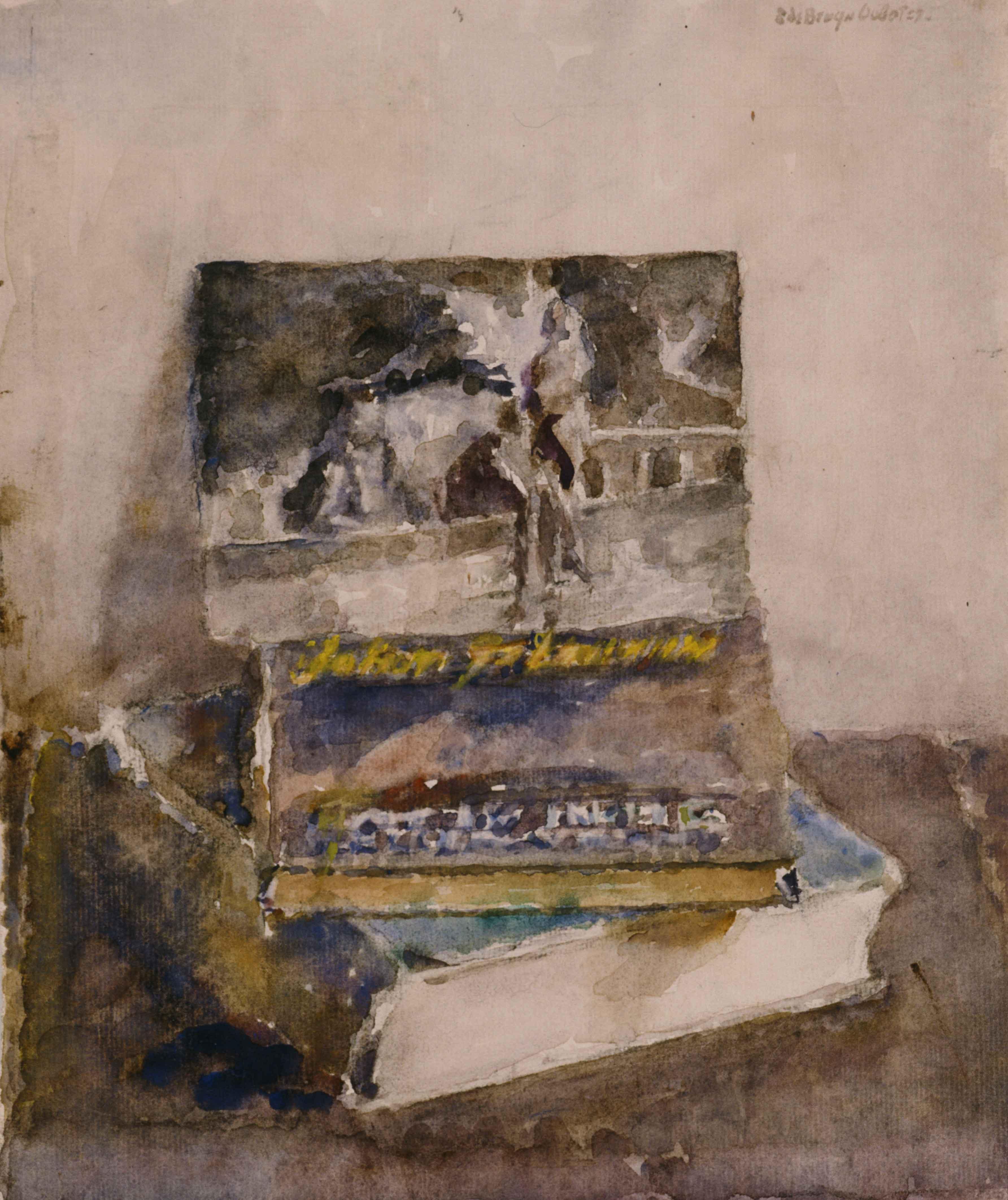 Boeken J. Fabricius, ansichtkaarten